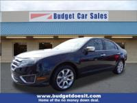New Price! Black 2012 Ford Fusion SEL AWD 6-Speed