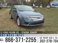 2012 Ford Fusion SEL. *** Still under Warranty ***.