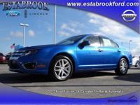 Exterior Color: steel blue metallic, Body: Sedan,