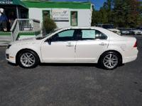 Options:  2012 Ford Fusion Sel 4Dr Sedan|White|2-Stage