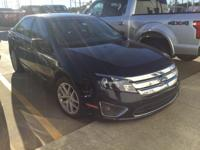 Recent Arrival! Ford Fusion SEL Tuxedo Black FWD CARFAX