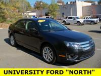 Carfax One-Owner. 2012 Ford Fusion SEL Tuxedo Black