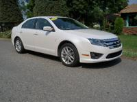 Options:  2012 Ford Fusion Sel|White|41055 Milesstock