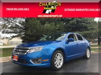 Options:  2012 Ford Fusion Sel 4Dr Sdn Fwd|Champion