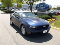 CLEAN CARFAX-- CONVERTIBLE,3.7L V6 SMPI