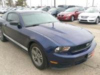 Check out this gently-used 2012 Ford Mustang we