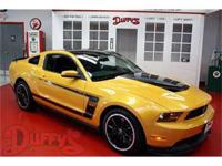 A LEGEND REBORN WITH NEW TECHNOLOGY 2012 Ford Boss 302.