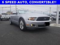 Clean CARFAX. ** PREMIUM 2012 MUSTANG V6 PONY PACKAGE