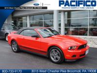 WOW!!! HARD TO FIND 2012 FORD MUSTANG V6 CONVERTIBLE