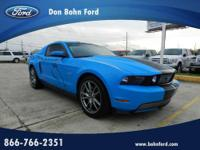 Don Bohn Ford presents this 2012 FORD MUSTANG 2DR CPE