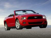 Recent Arrival! CARFAX One-Owner. 2012 Ford Mustang 2D