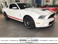 New Price! Performance White 2012 Ford Mustang Shelby