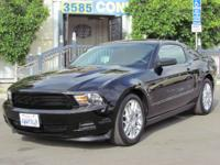 2012 Ford Mustang Coupe. V6 engine with automatic