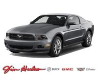This 2012 Ford Mustang 2dr Cpe V6 Premium is offered to