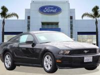 Options:  2012 Ford Mustang V6|Black/|V6 3.7L
