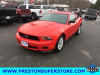Options:  2012 Ford Mustang V6|Race Red|*Why Buy Brand