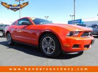 Check out this 2012 Ford Mustang V6 Premium. Its