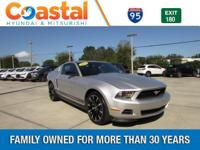 This 2012 Ford Mustang V6 in Silver features: RWD