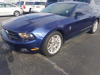 One-Owner Kona Blue Metallic 2012 Ford Mustang Coupe