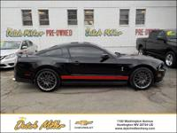 2012 Ford Mustang Shelby GT500 5.4L V8 32V Supercharged