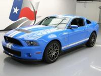 2012 Ford Mustang with SVT Performance Package,5.4L