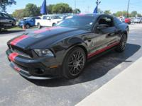 This is a beautiful ONE OWNER Ford Shelby GT500. With