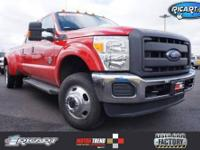ONE OWNER VEHICLE TRADE IN!! F-350 SuperDuty XL DRW, 4D