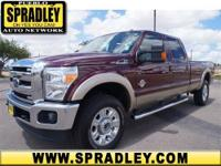 2012 Ford Super Duty F-350 SRW Crew Cab Pickup Lariat