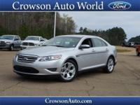 Cruise in comfort in this 2012 Ford Taurus SEL with