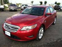 Elegantly expressive, this 2012 Ford Taurus is a