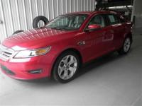 This 2012 Ford Taurus SEL has less than 35k miles!!!