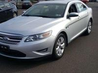 Clean CARFAX. Silver 2012 Ford Taurus SEL AWD 6-Speed