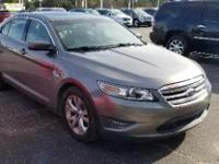 Sterling Gray Metallic 2012 Ford Taurus SEL FWD 6-Speed