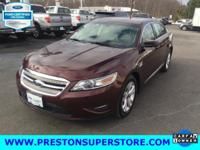 Options:  2012 Ford Taurus Sel|Red|Ford Taurus