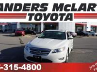 LOW MILES, This 2012 Ford Taurus will sell fast -V6