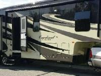 2012 Forest River CARDINAL 3515RT, Exterior: White,