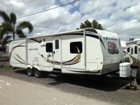 Pre-Owned 2012 Forest River RV eXtralite 30 BHS Travel