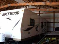 2012 Forest River Rockwood Ultra Lite Travel Trailer
