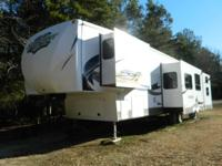 2012 Forest River Sandpiper M365SAQ 5th Wheel. Length