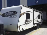 2012 Forest River Surveyor This travel trailer is fully