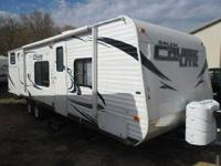 2012 Forest River Wildwood. This unit is 27 RLSS feet