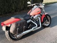 2012 FXDF 103 Dyna Fat Bob with stage 1 upgrade to