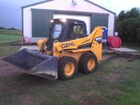 2012 Gehl 5640 E Series Skidloader. This workaholic is
