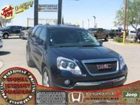 Acadia SLT-1, 4D Sport Utility, 6-Speed Automatic