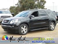 2012 GMC Acadia LEATHER LOADED WITH Back-Up Camera,