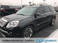 GMC Acadia  CARFAX One-Owner. Odometer is 29247 miles