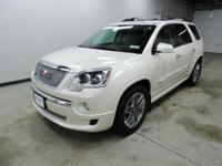 Options:  2012 Gmc Acadia Denali|White|Awd. Ready To