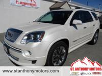 This 2012 GMC Acadia  has a V6, 3.6L high output