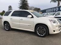 Options:  2012 Gmc Acadia Fwd 4Dr Denali Used|White
