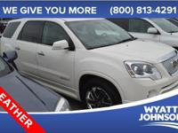 Stop clicking the mouse because this 2012 GMC Acadia is